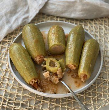 Kousa Mahshi - Stuffed Zucchini Recipe