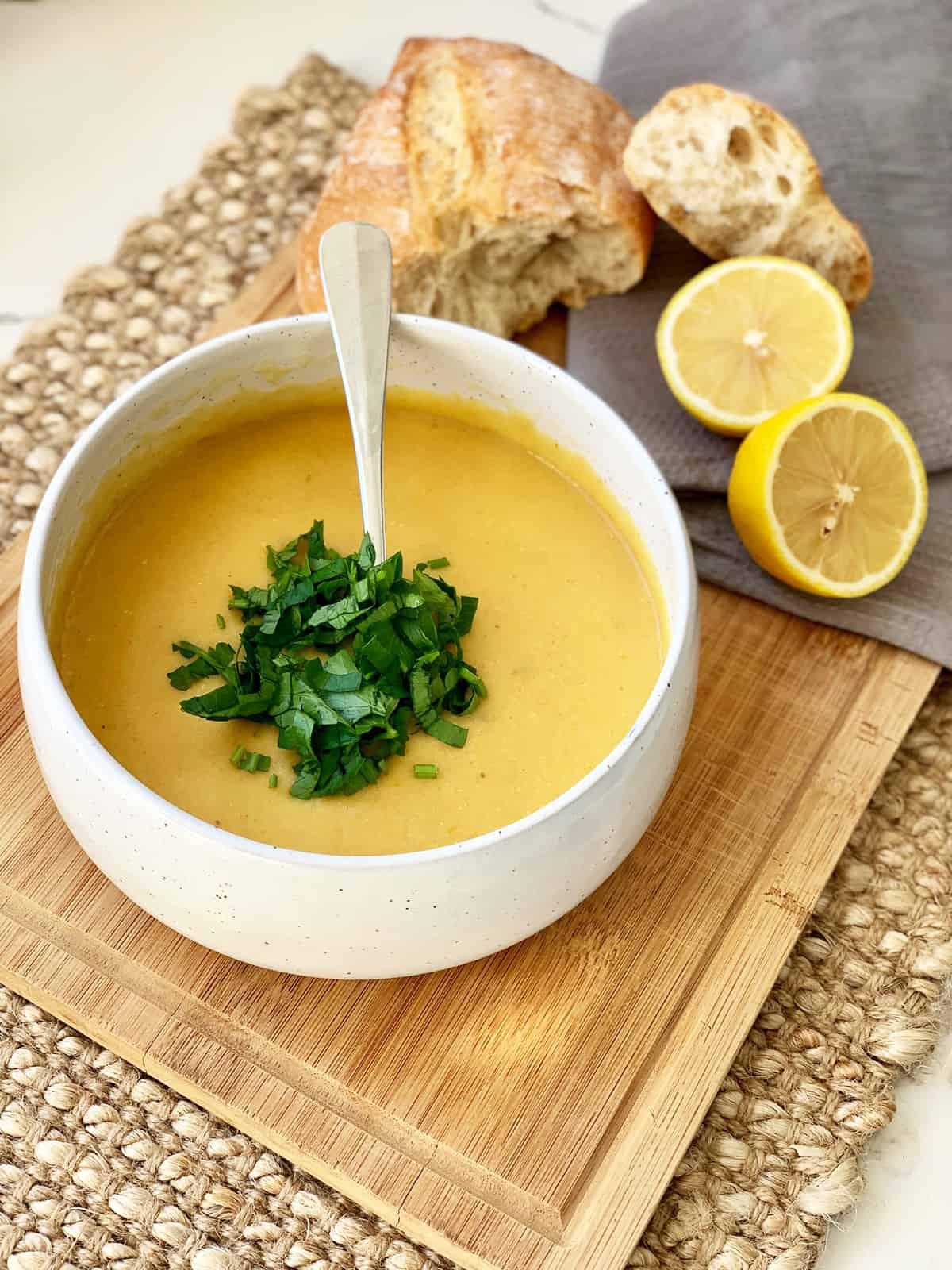 Lentil Soup - Shorbet Adas Recipe Lebanese