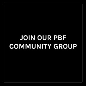 Banner asking users to join the Plant Based Folk Community Page