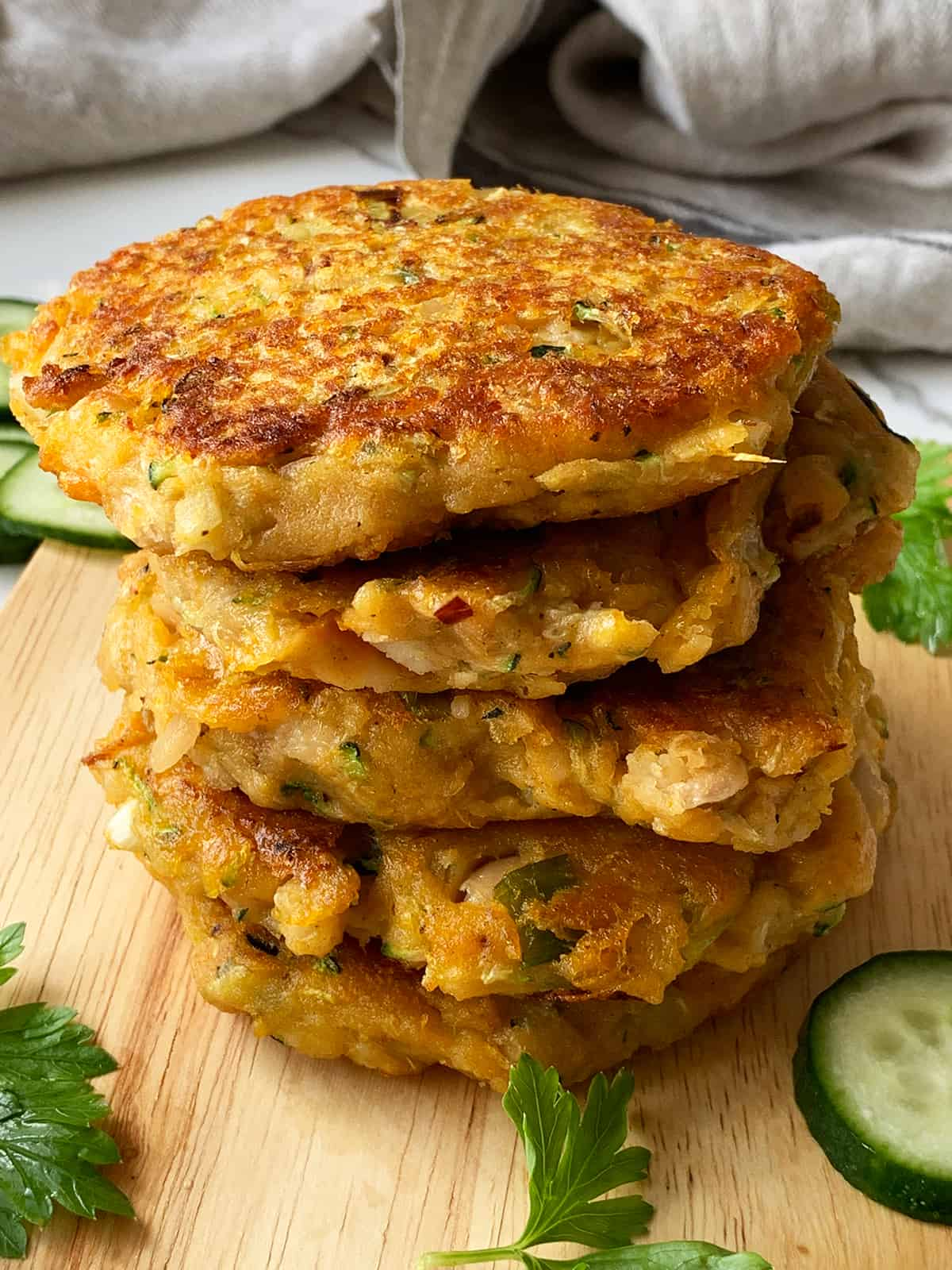 How To Make Sweet Potato Zucchini Fritters