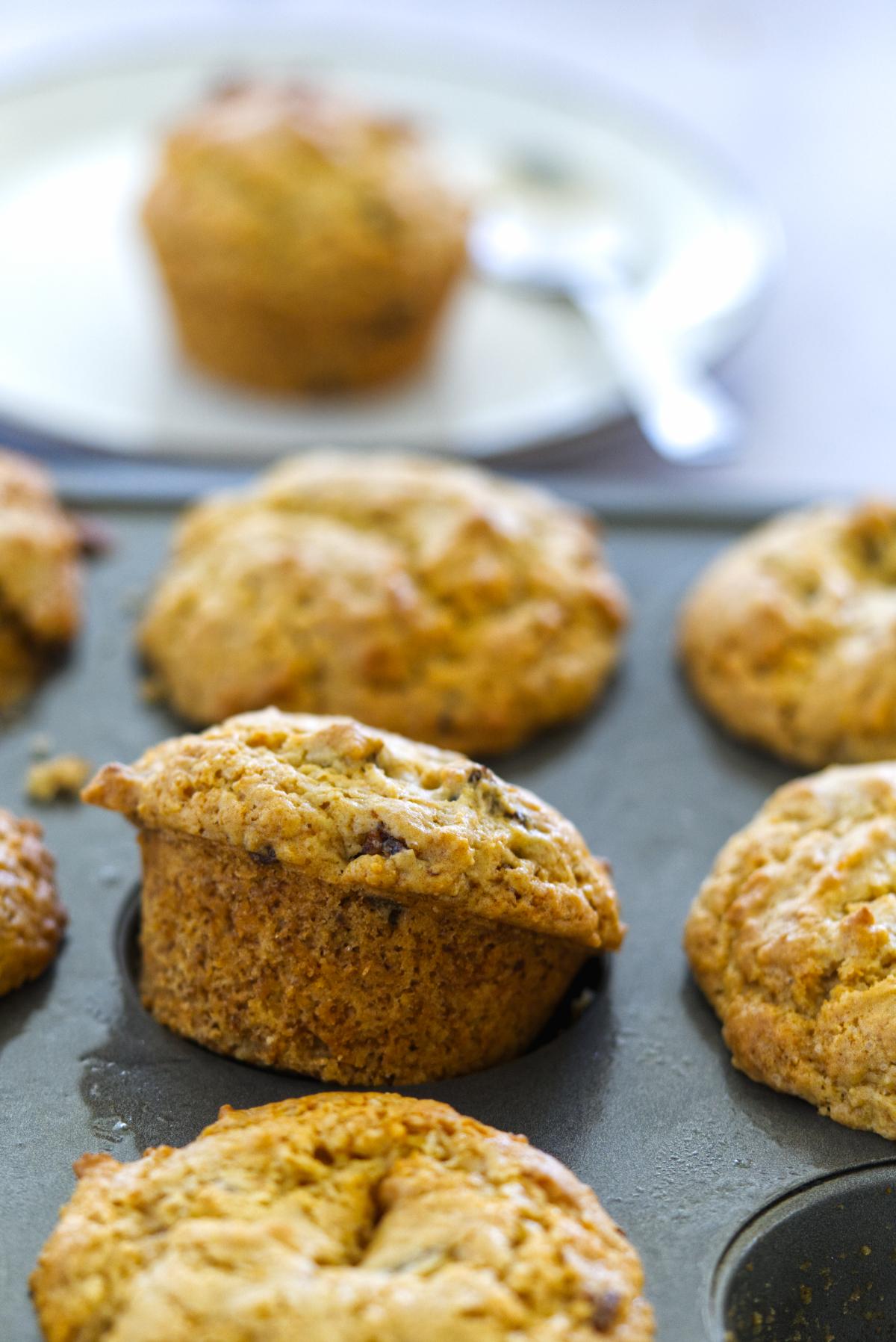 baobab muffins vegan in tray