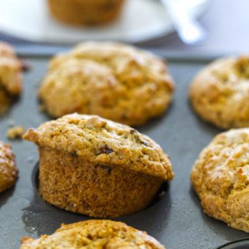 baobab vegan muffin up close