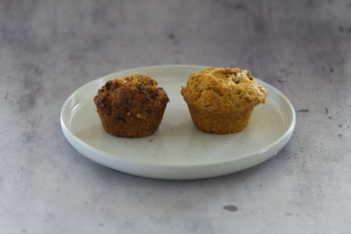 coconut oil vs vegan butter muffins