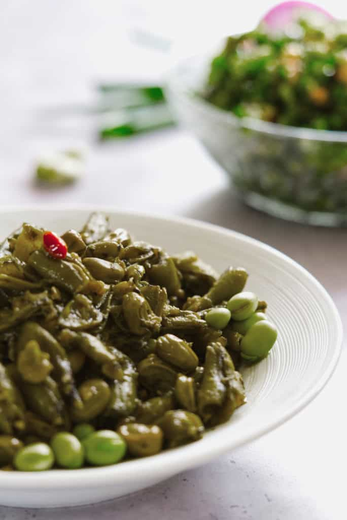 Foul Akhdar Bi Zeit Lebanese Green Broad Beans