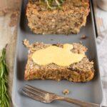 Lentil loaf vegan holiday roast