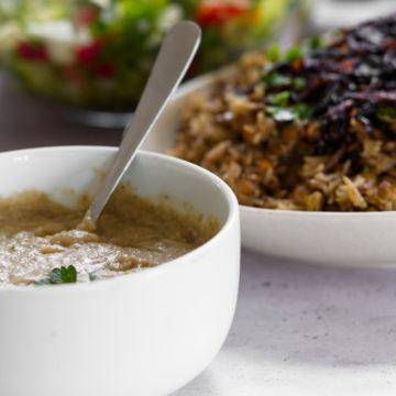 Lebanese Lentil Porridge
