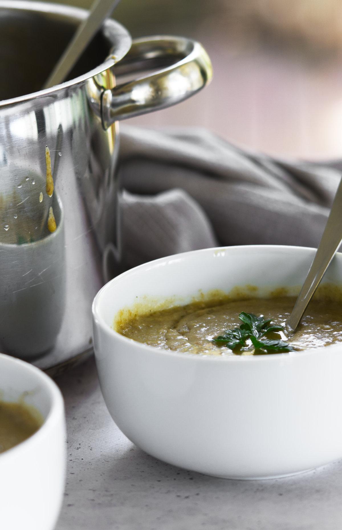 Lentil porridge