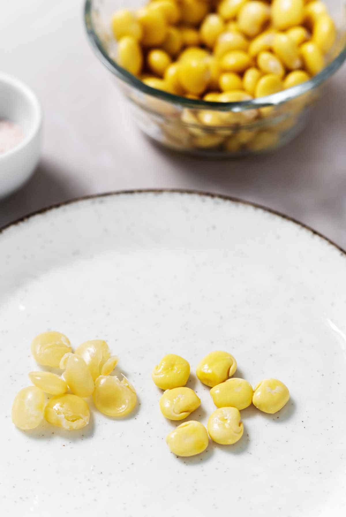 Shelled Lupini Beans