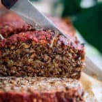 vegan lentil loaf roast