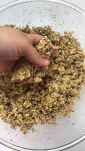 Mixing hashweh with hand