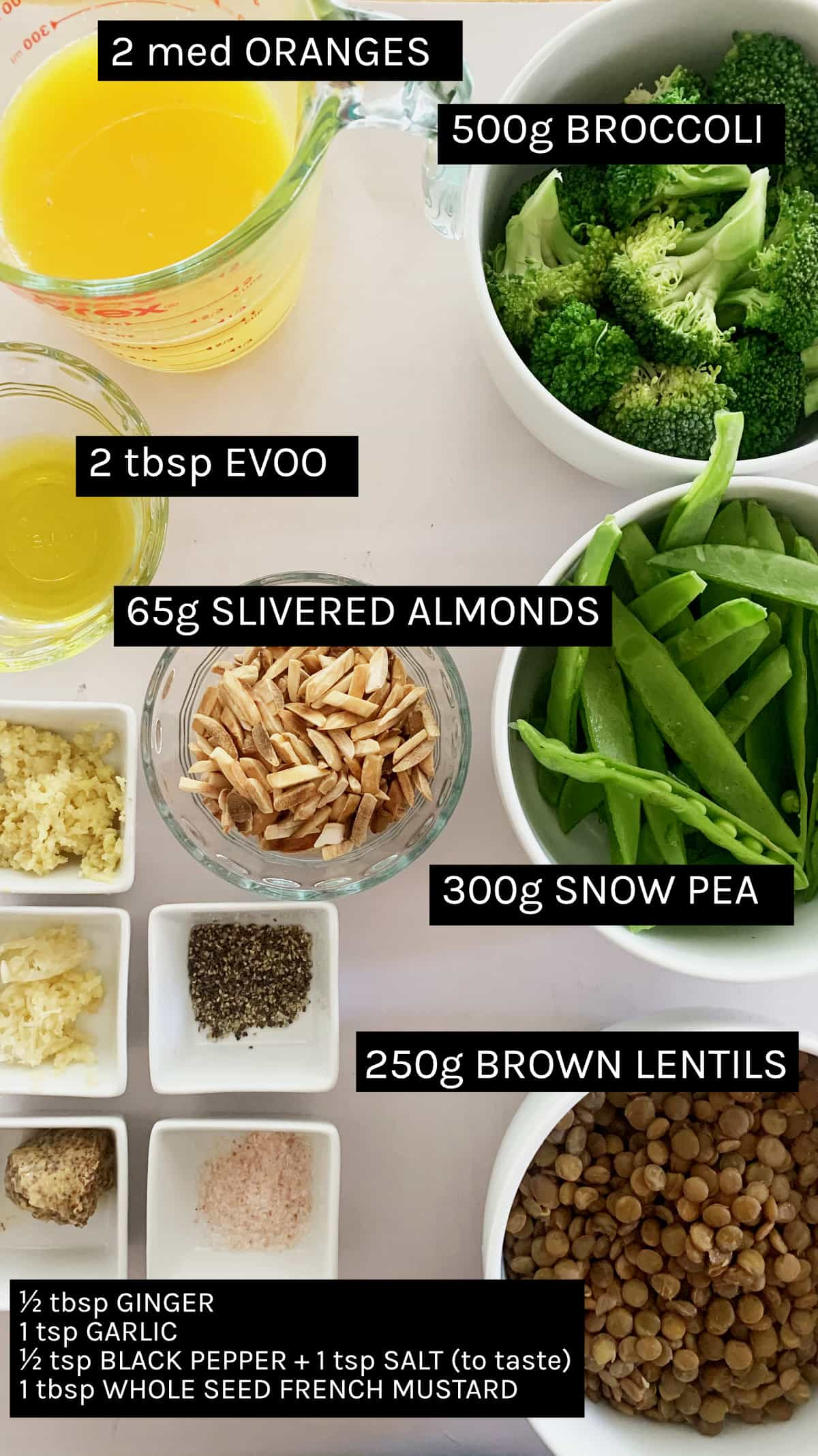 vegan broccoli salad ingredients