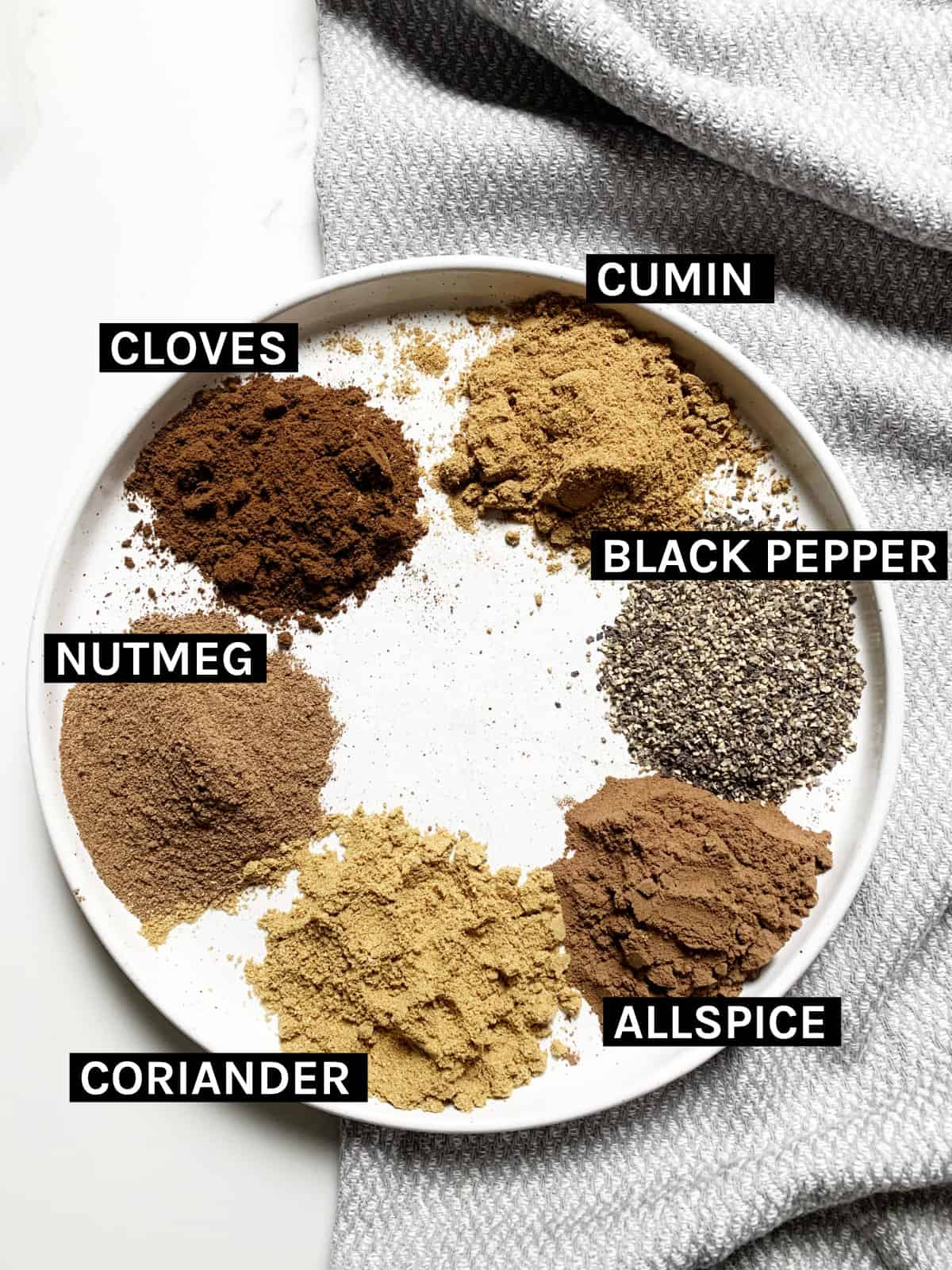 Lebanese 7 Spices ingredients