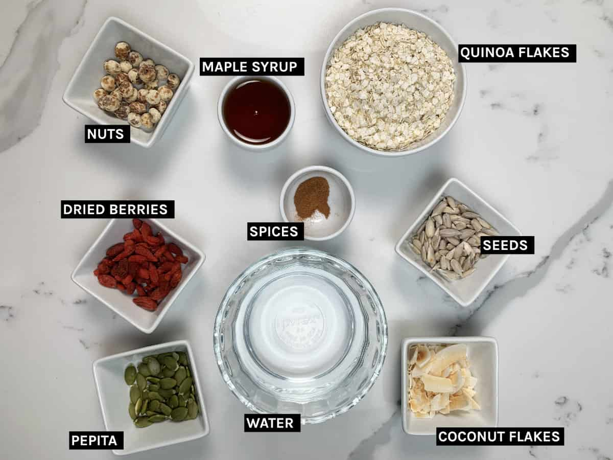 gluten free cereal ingredients
