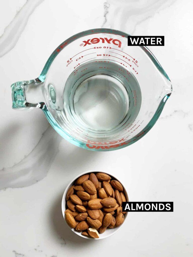 activated almonds ingredients