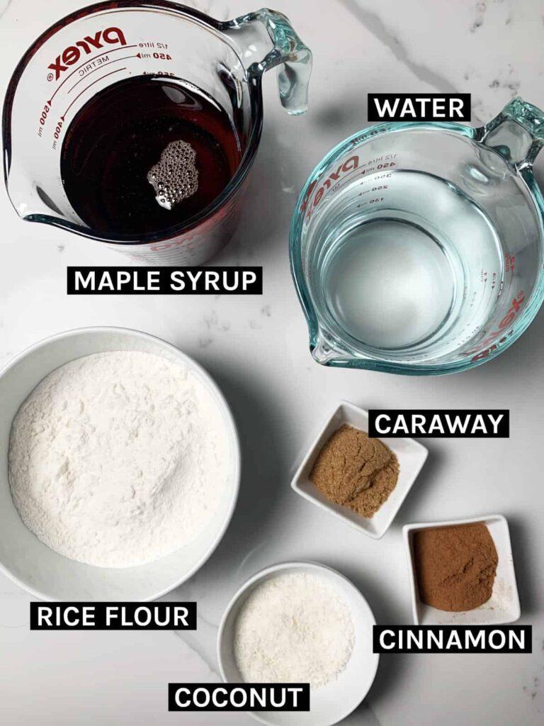 Moghli Ingredients