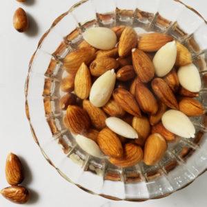 soaked almonds recipe