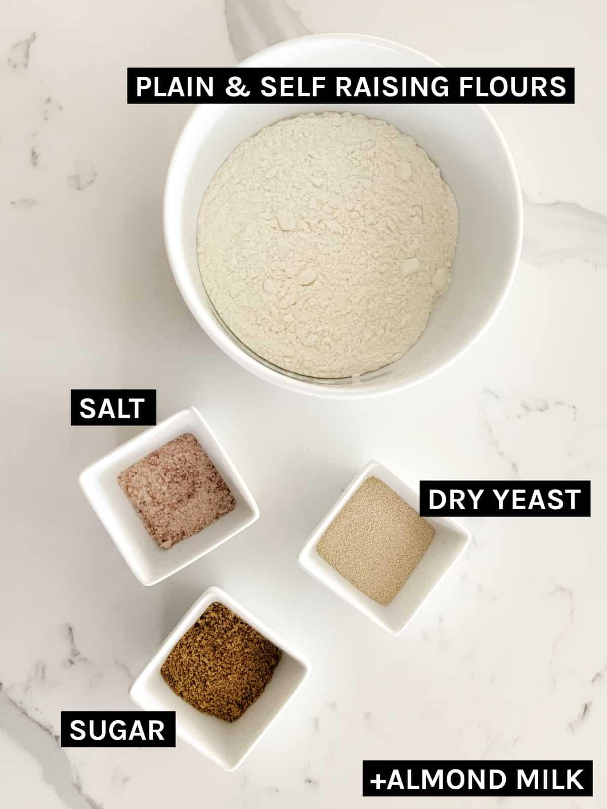 Fatayer dough ingredients